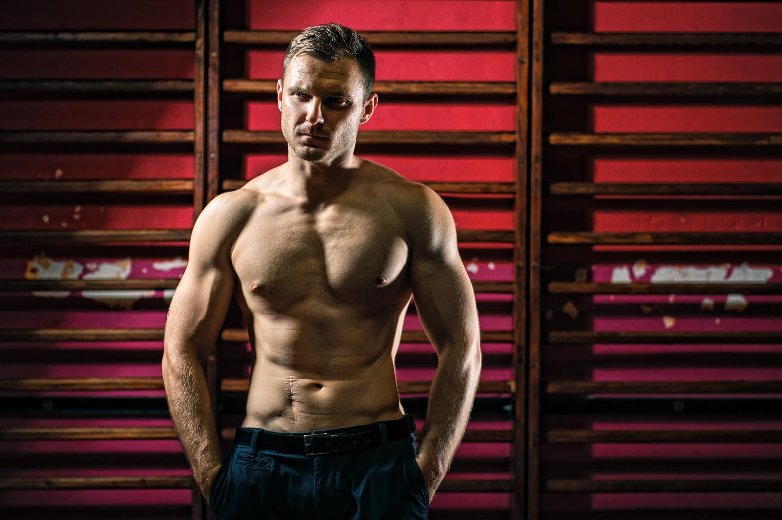Marcin w K1 Fighting Center