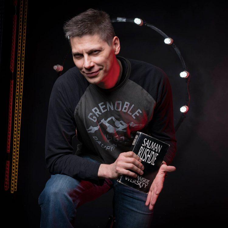 Aleksander w studio GFL