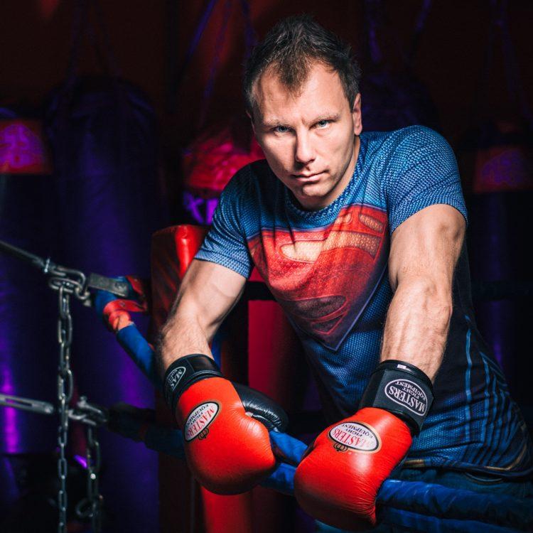 Paweł w K1 Fighting Center