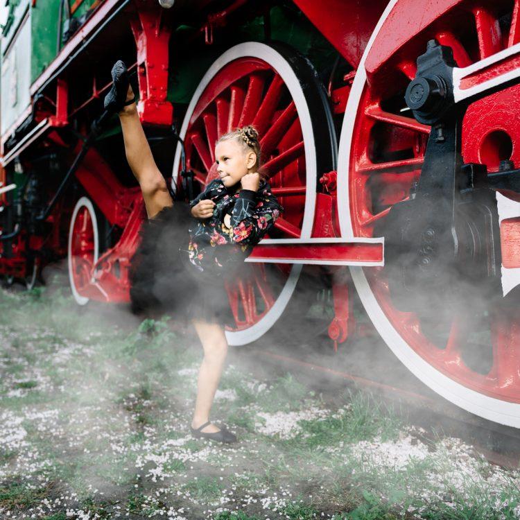 Helenka i lokomotywa