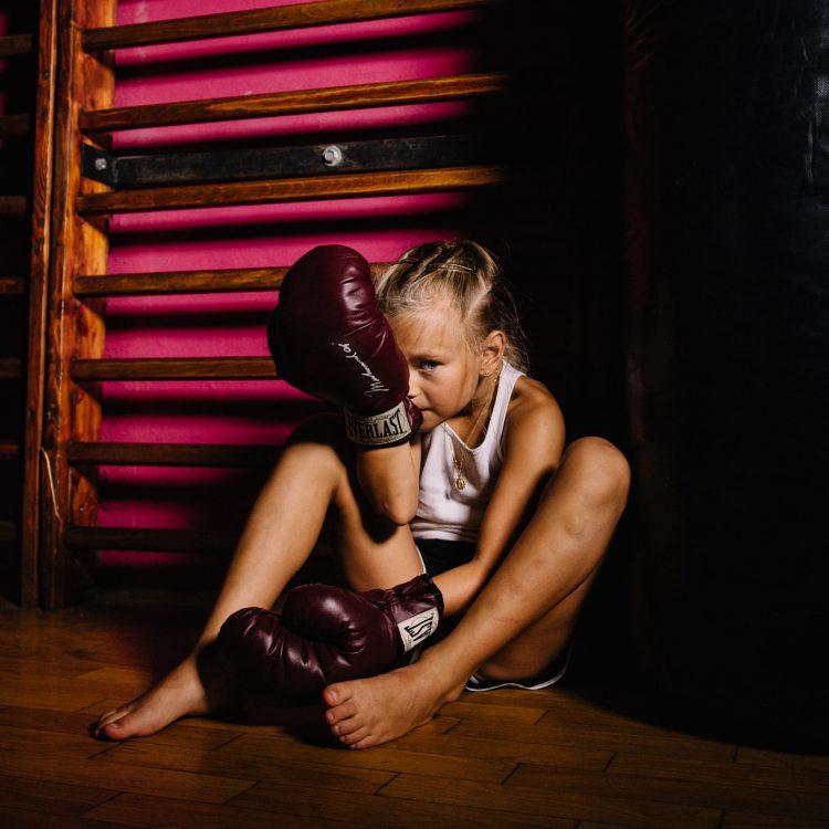 Helenka w K1 Fighting Center
