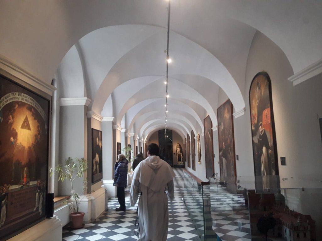 Wirydarz Bazyliki o.o. Dominikanów