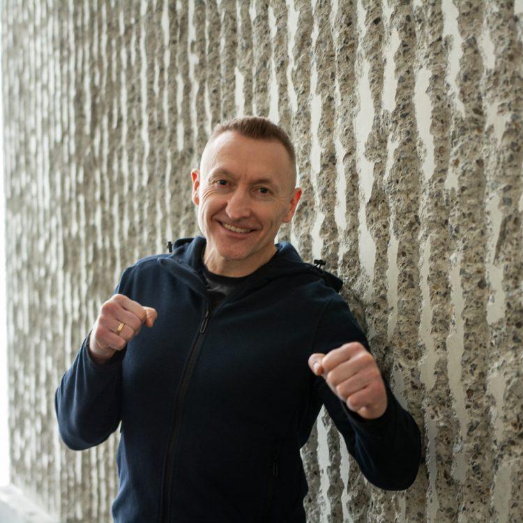 Sesja wizerunkowa z Grzegorzem w Centrum Spotkania Kultur